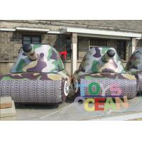 China Safe Gaint Inflatable Paintball Bunkers Waterproof For Children wholesale