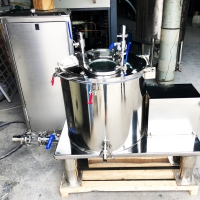 China 30 L Centrifuge Separation Liquid Herbal Terpene Leaf Oil Extraction Cold Extractor Machine for Rotovap Distil wholesale