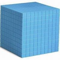 China Plastic Base 10 Cube, Available in Blue, Measures 10 x 10 x 10cm wholesale