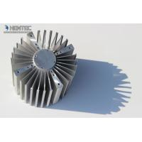 China 6060 6061 Aluminum Heatsink Extrusion Profiles Punching Machines ROHS / SGS wholesale