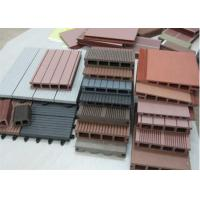 China Wood Plastic Composite Production Line , Wpc Extrusion Machine Twin screw extruder wholesale
