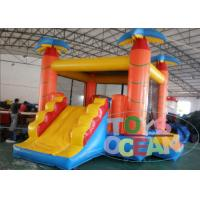 China Monkey Jungle Inflatable Jumping Bounce House 4 in 1 Combo For Kid Playing Park wholesale