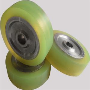 China Customized Metal Core Polyurethane Wheels , Pu Roller High Tensile Strength wholesale
