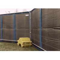 China Portable Noise Barriers 40dB sound insulation for 8x12 Temporary Fencing Panels wholesale