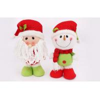 Wholesale 30CM Customizable snowman doll plush Holidaystuffed Toys Of Fiber cotton from china suppliers
