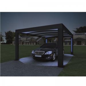 China 52X2 , 4 M -Genua Induction Garage Led Auto-Sensing Solar Garage Parking Lot wholesale