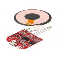 China Type C Qi Standard Wireless Charging Transmitter Module For IPhone / Samsung wholesale