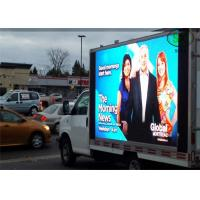 China P10 led mobile digital advertising sign trailer , Outdoor Mobile Truck LED Display Full Color screen wholesale