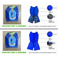 China Sun protection kids floating swimwear / floatation swim suit / boy play in water size XXXL wholesale