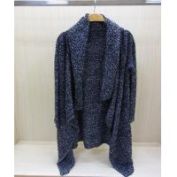 China Autumn Cardigan Ladies V Neck Sweaters Fine Knit Poncho Sweater wholesale