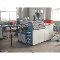 China Double Screw Plastic Pipe Extrusion Line 380v , Plastic Pipe Machinery wholesale