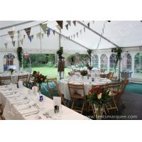 Wind Resistant Outdoor Luxury Wedding Tents Marquee Aluminum Profile for sale