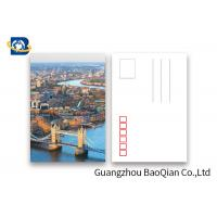China Beautiful Landscape 3d Lenticular Postcard  PET / PP Material Printing Images wholesale