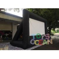 China Oxford Inflatable Fast Folding Projection Screen For Outdoor Commercial Exhibition wholesale