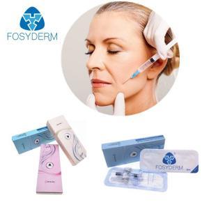 China Anti Aging Hyaluronic Acid Wrinkle Fillers Syringe Needle HA Injection Dermal on sale