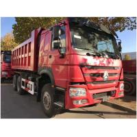 China SINOTRUCK HOWO Used Dump Truck Left Hand Driving Model 7125*2496*3600 wholesale