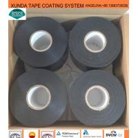 China Black / White Waterproof Pipe Tape , Gas Pipe Tape With Polyethylene Backing wholesale