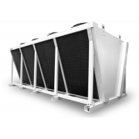 Buy cheap V type Condenser Stainless Steel Coil Tubing Heat Exchanger Air Cooler from wholesalers