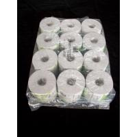 China 12rolls Packing Toilet Tissue Paper Roll 10 x 10cm Recycle Wood Pulp wholesale