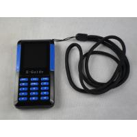 China 006A Small Size Museum Audio Tour Systems , Blue / Black Audio Guide Device wholesale