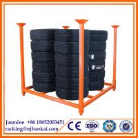 China warehouse metal Stacking pallet Rack wholesale