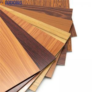 China Interior Decorative 1250mm*3050mm Wooden ACP ACM Sheet wholesale