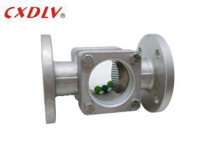 "China 4"" PTFE Gasket Borosilicate Flanged Sight Glass 150LB RF wholesale"