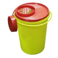 China Plastic Medical Sharps Container Syringe Needle Waste Disposal Containers Box wholesale