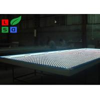China Clip Frame LED Fabric Light Box Single Sided DC 12V With LED Folding Strip Panel Light wholesale