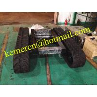 rubber track undercarriage rubber crawler undercarriage