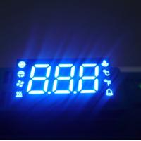 China Custom 7 Segment LED Display For Temperature Humidity Defrost Compressor Fan Status Indicator wholesale