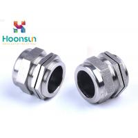 China NPT1 / 4 Dustproof Stainless Steel Cable Gland Waterproof Electroplate Surface Treatment wholesale