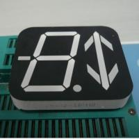China Custom 7 segment LED Display Ultra Red 40 x 46 x 8 mm Dimensions wholesale