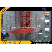 China Buildings Internal Climbing Tower Crane Free Standing Height 29M Full VFD Control wholesale