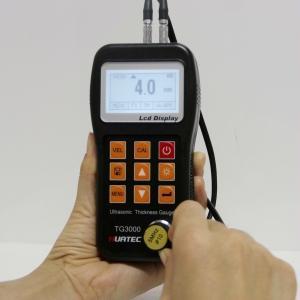 China 0.75-300mm NDT Equipment Ultrasonic Wall Plastic Metal Thickness Measuring Machine wholesale