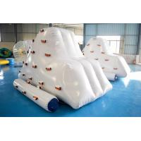 China Inflatable Iceberg Climber / Inflatable Iceberg Water Toy For Kids wholesale