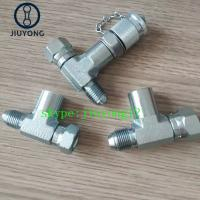 Quality male x swivel female test points,test couplings for sale