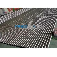 China S30908 / S31008 Precision Stainless Steel Tubing Cold Rolled For Structure And Machining wholesale
