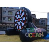 Quality Gaint Inflatable Air Sealed Soccer Dart Shooting Football Game For Sport Game for sale