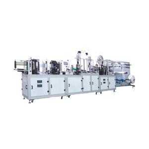 China Full Automatic ultrasonic Medical Tie On Mask Making Machine wholesale