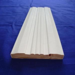 China Environmentally Friendly Interior Wood Trim , White Wood Door Casing wholesale
