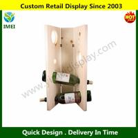 China Wooden Wine Rack - Square - NaturalWR-NAT-SQ 1 Each YM6-073 wholesale