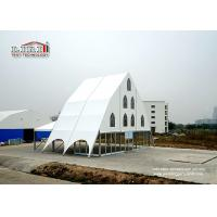 China Outdoor Church Tent For 100 - 10000 People Capacity Clear Span Aluminum Frame on sale