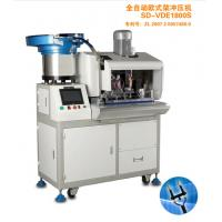 Buy cheap High Efficiency Flat Cable 2 Round Pin Plug Insertion Machine Low Noise from wholesalers