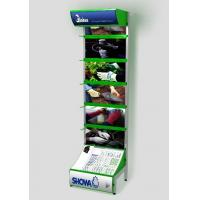 China Retail hardware display / One side gridwall stand rack PVC foam for showing gloves product wholesale