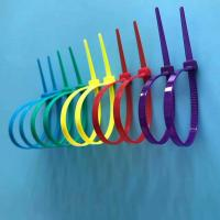 Buy cheap Free Sample Available Nylon Cable Ties Easy Use Self-locking Type In Different Colors from wholesalers
