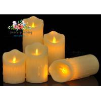 China Plastic Material LED Candle Light Battery Operated For Wedding , Night Club wholesale