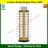 """China Counter Top Rotating Sunglass Display Stand Holds 40 Pairs 28.75"""" H X 14.5"""" W YM6-063 wholesale"""
