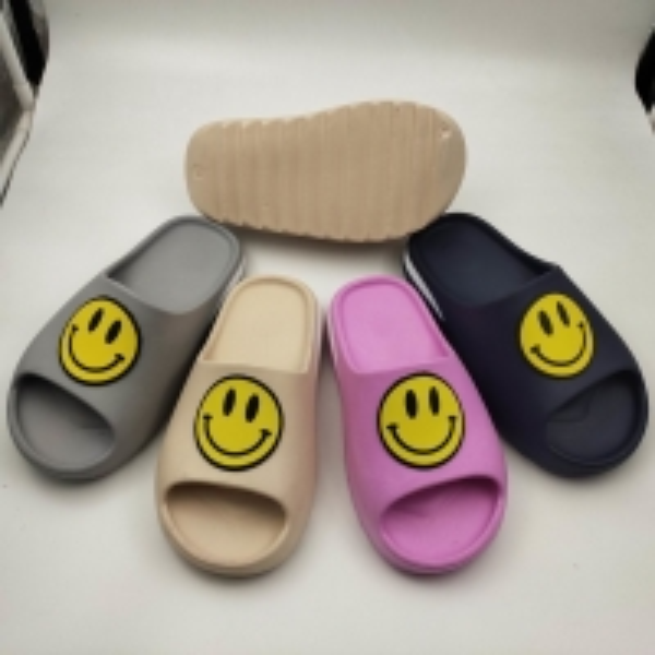 Quality SGS Non Slip Summer Beach Kids Slide Sandals for sale