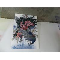 Quality Wide Format UV Flatbed Printing For Glass / Displays Full Color for sale